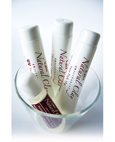 Natural Clay Travel Size Set