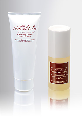 Natural Clay Cleansing and Lotion Set